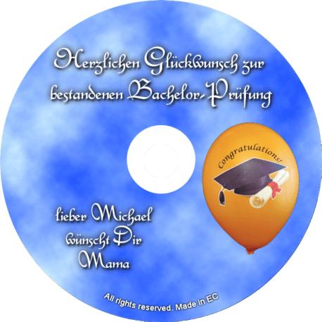Glückwunsch-CD zum Bachelor