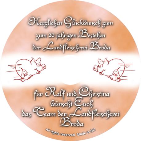Glückwunsch-CD zum Firmenjubilaeum1