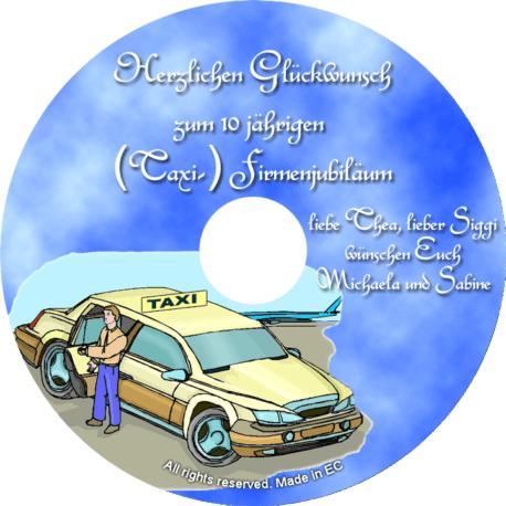 Glückwunsch-CD zum irmenjubilaeum