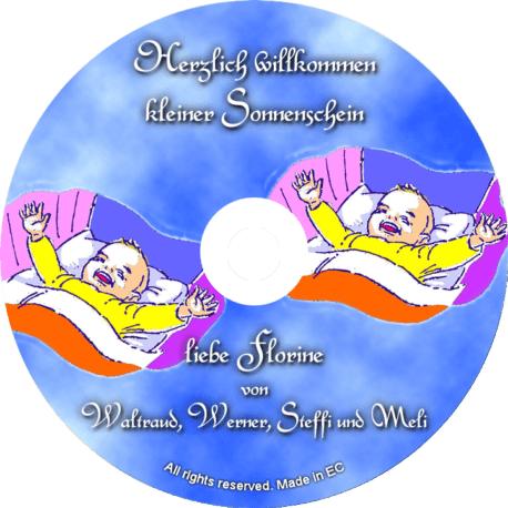 Glückwunsch-CD zur Geburt