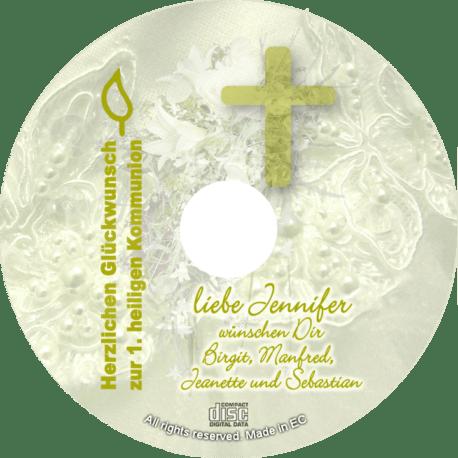 Glückwunsch-CD zur Kommunion