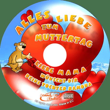 Glückwunsch-CD zum Muttertag