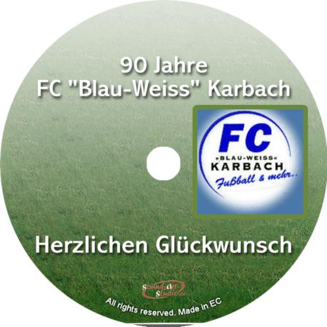 Glückwunsch-CD Vereinsjubiläum