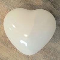 Herzluftballon weiss