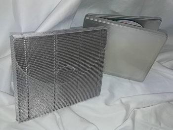 Geschenkverpackung für CD in Silber