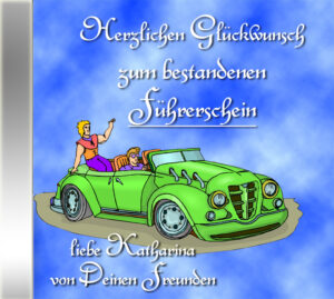 persönliche Gratulations-CD Cover - personalisierte Geschenke für alle Anlässe