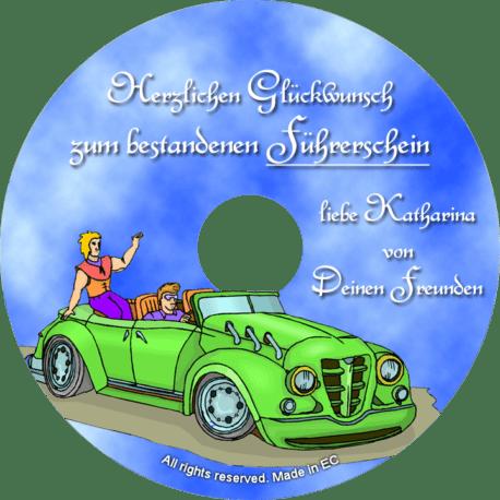 persönliche Gratulations-CD - personalisierte Geschenke für alle Anlässe