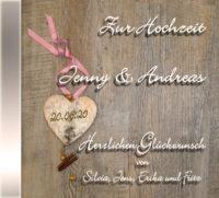 persönliche bayerische Hochzeits-CD Cover - personalisierte Geschenke zur Hochzeit