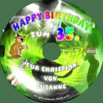persönliche Party-Geburtstags-CD - personalisierte Geburtstagsgeschenke