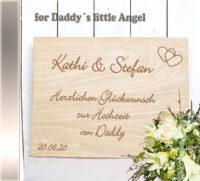 persönliche Hochzeits-CD Daddys Cover - personalisierte Geschenke zur Hochzeit