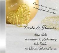 Persönliche Hochzeitstags-CD Above