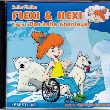 Kinder-Hörbuch-CD Flexi & Hexi, Abenteuer mit Rollstuhl-Mädchen Flexi